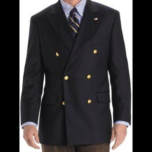 Brooks Brothers Double Breasted Blazer